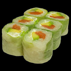 Spring Roll Saumon Fumé