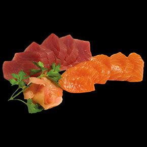 Sashimis Thon saumon