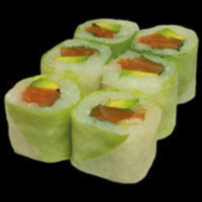 spring rolls saumon